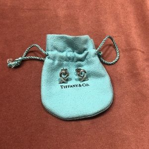 Tiffany & Co Paloma Picasso Loving Heart Earrings
